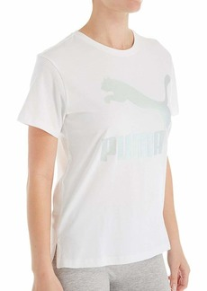 PUMA Women's Classics T-Shirt White XS