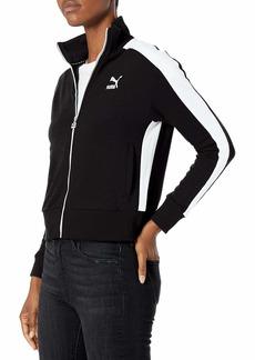 PUMA Women's Classics T7 Track Jacket Black XS