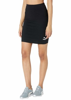 PUMA Women's Classics Tight Skirt Black