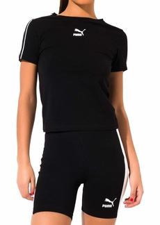 PUMA Women's Classics Tight Top Black XL