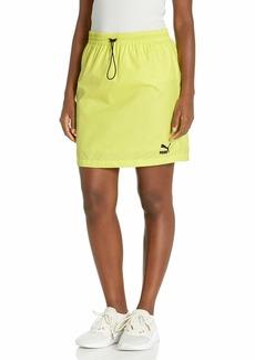 PUMA Women's Classics Woven Skirt  M