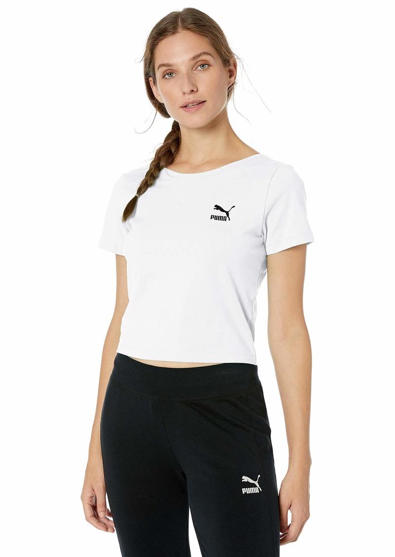 PUMA Women's Claw T-Shirt White XL