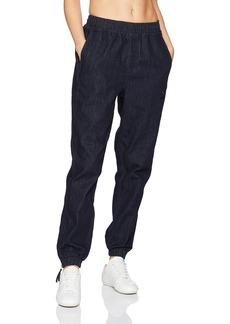 PUMA Women's Denim T7 Track Pants Peacoat-Denim M