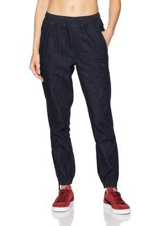 PUMA Women's Denim T7 Track Pants  XL