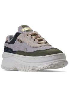 Puma Women's Deva Reptile Trainers Casual Sneakers from Finish Line