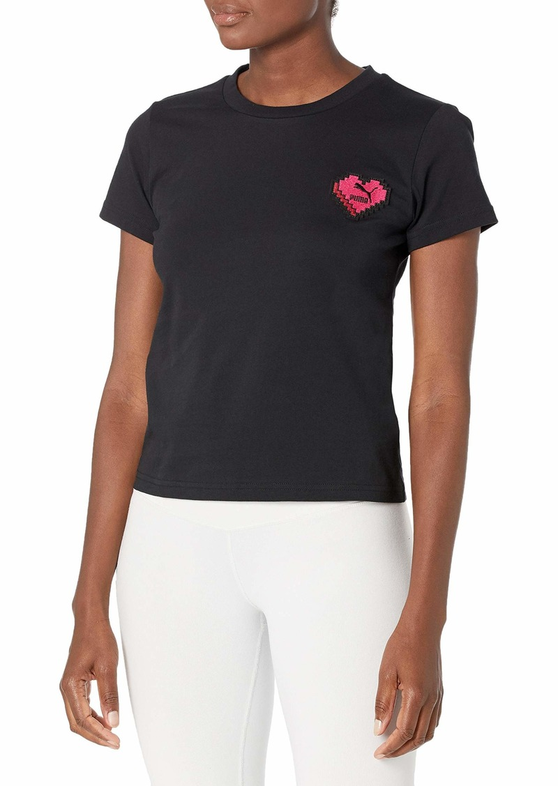 PUMA Women's Digital Love T-Shirt  XL
