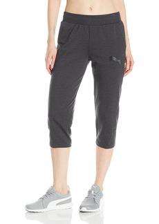 PUMA Women's Elevated 3/4 Sweatpants  M