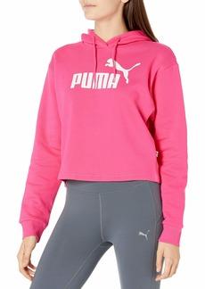 PUMA Women's Essentials Fleece Cropped Hoodie  L