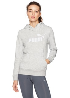 PUMA Women's Elevated Logo Hoodie  L