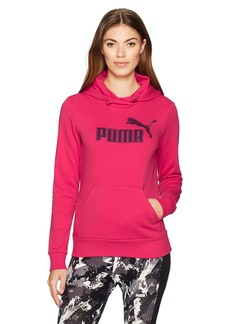 PUMA Women's Elevated Logo Hoodie  S