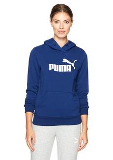 PUMA Women's Elevated Logo Hoodie  XS