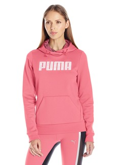 PUMA Women's Elevated Polyester Fleece Hoodie