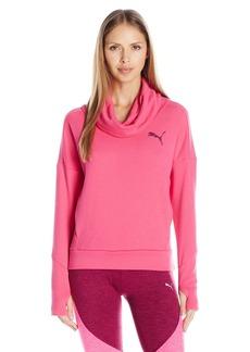 PUMA Women's Elevated Rollneck Sweatshirt