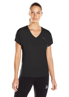 PUMA Women's Elevated Sporty T-Shirt Black S