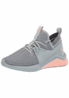 PUMA Women's Emergence Sneaker Quarry-Peach Bud  M US
