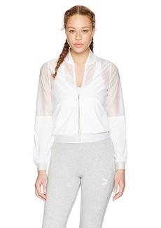 PUMA Women's En Pointe Jacket White XL