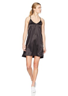 PUMA Women's En Pointe Satin Dress Black XS
