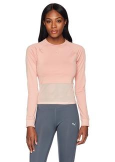 PUMA Women's En Pointe Tight Long Sleeve Shirt  S