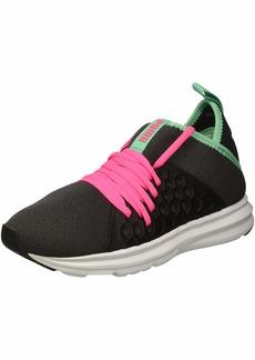 PUMA Women's Enzo NF Mid Sneaker Black-Knockout Pink  M US
