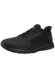 PUMA Women's Enzo Street Wn Sneaker Black-Periscope  M US