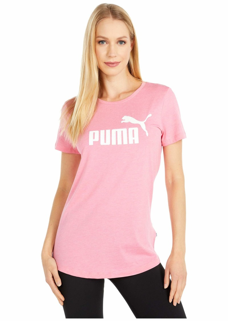 PUMA Women's Essentials+ Heather T-Shirt  S