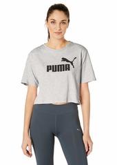 PUMA Women's Essentials+ Cropped T-Shirt  M
