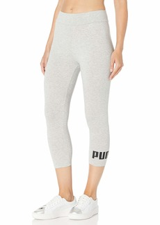 PUMA Women's Essentials 3/4 Logo Leggings