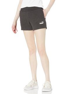 "PUMA Women's Essentials 4"" Sweat Shorts"