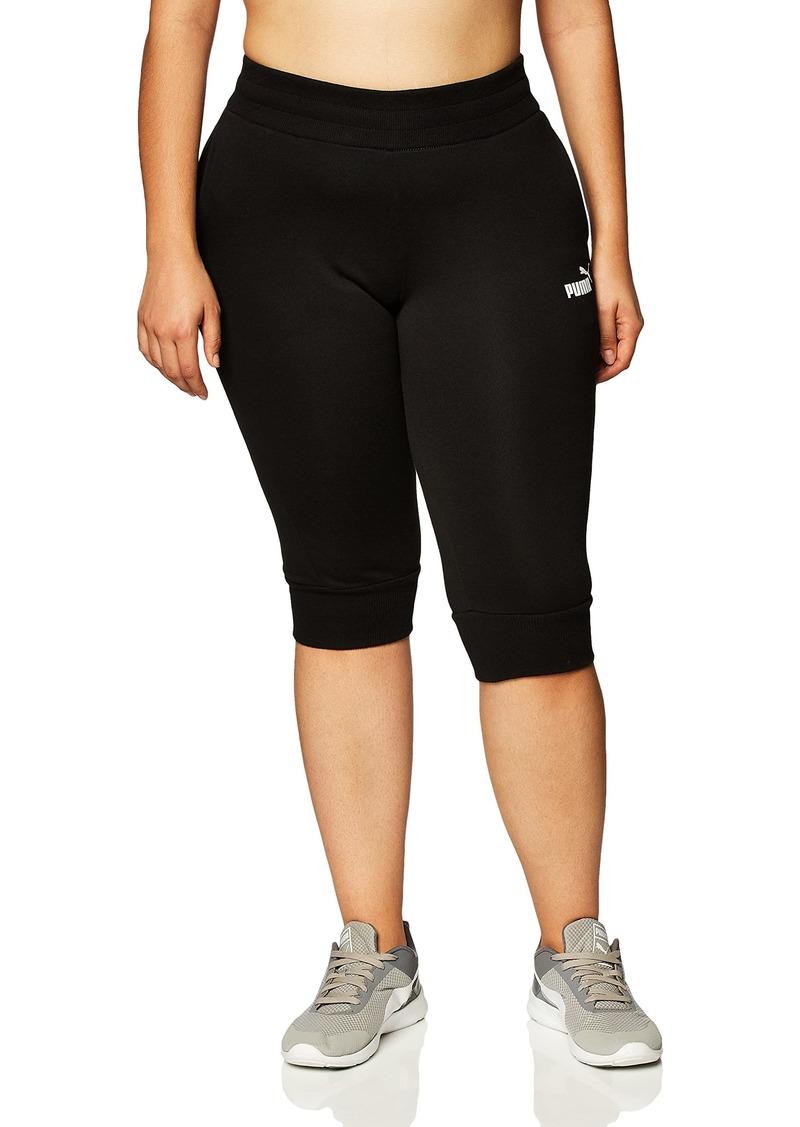 PUMA womens Essentials Capri Sweatpants Sweatsuit  XLarge US