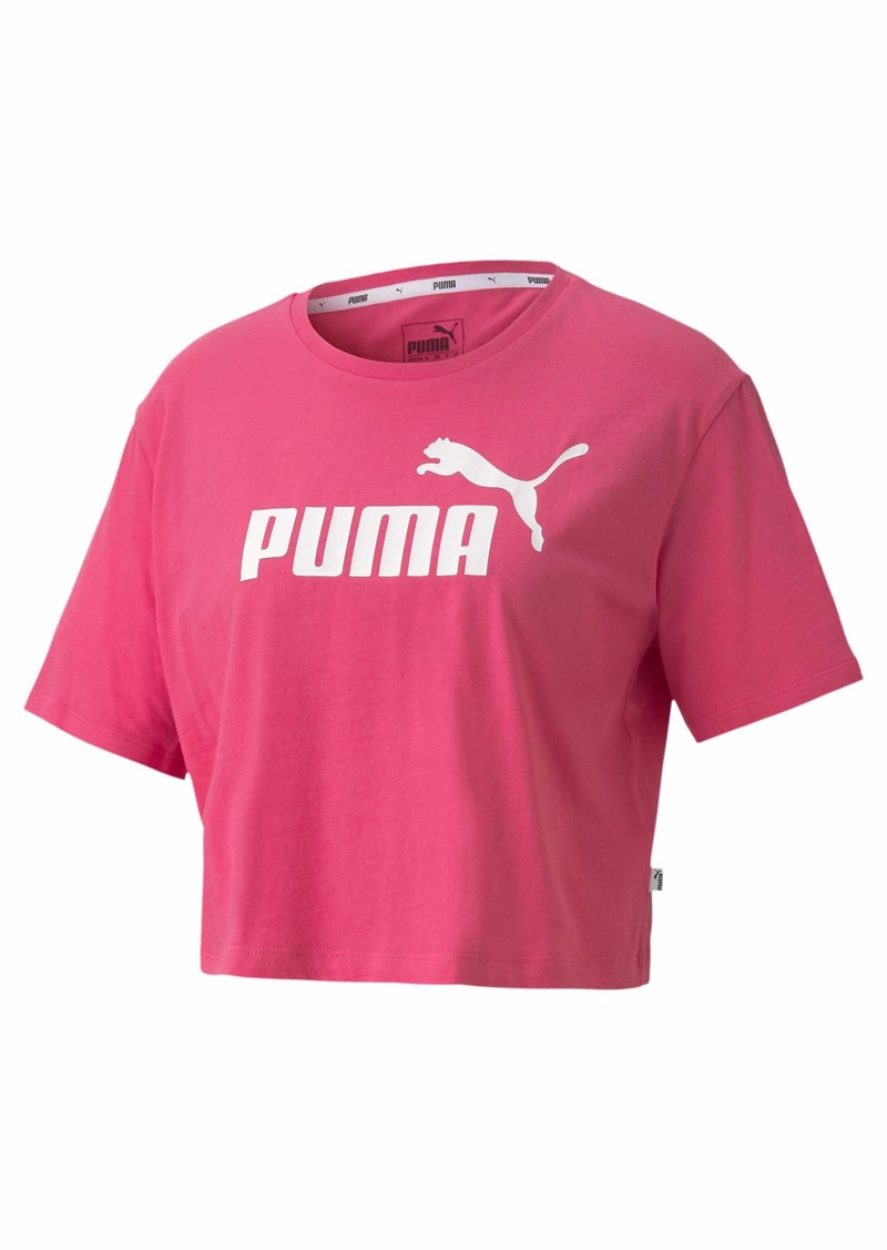 PUMA Womens Essentials-Cropped T-Shirts  XL