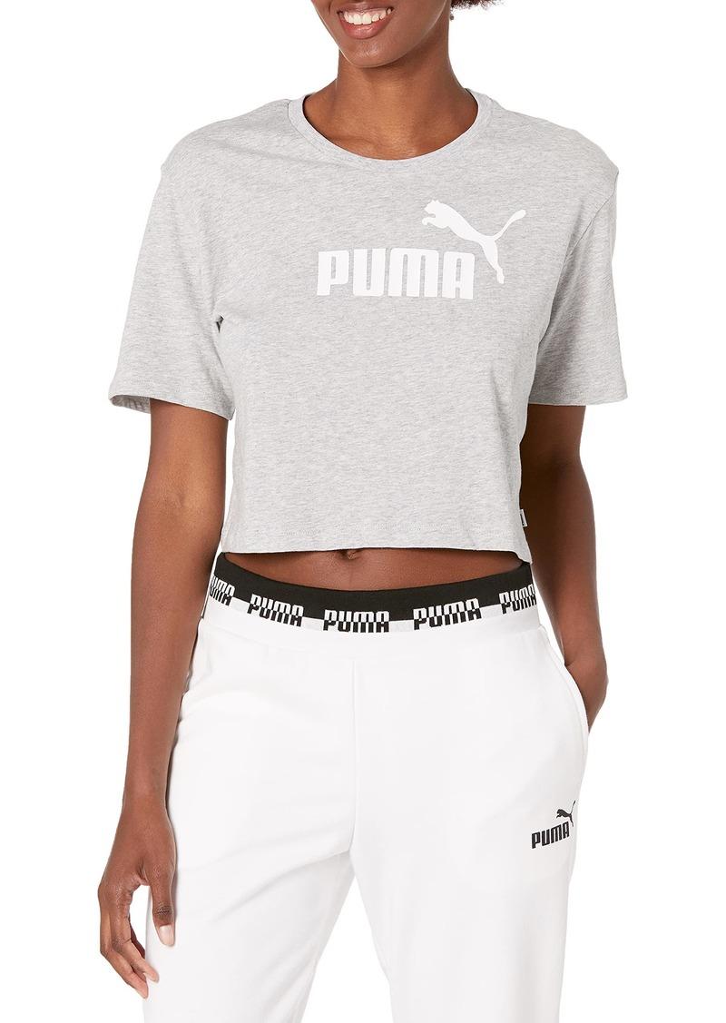 PUMA Women's Essentials+ Cropped Tee