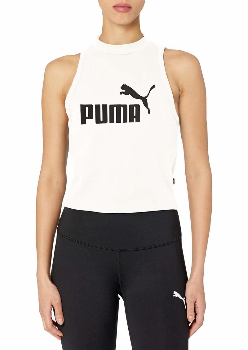 PUMA Women's Essentials High Neck Tank White