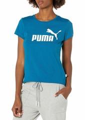 PUMA Women's Essentials T-Shirt Digi-Blue M