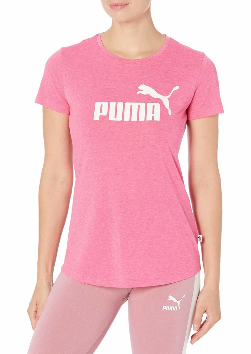 PUMA Women's Essentials+ Heather T-Shirt  XXS