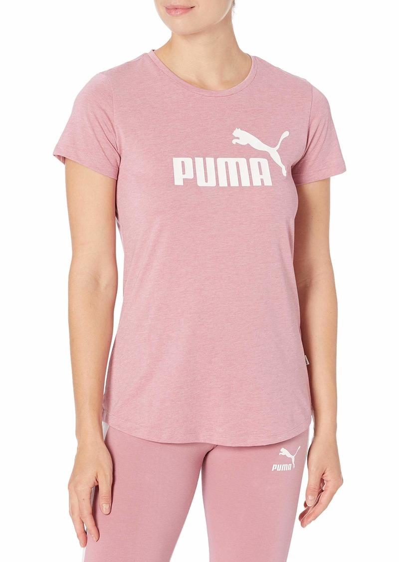 PUMA Women's Essentials+ Heather T-Shirt  S