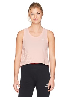 PUMA Women's Evo Crop Tank Top  XL