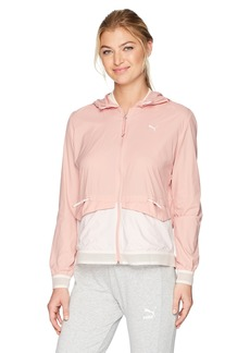 PUMA Women's EVO Foldable Windbreaker  XL