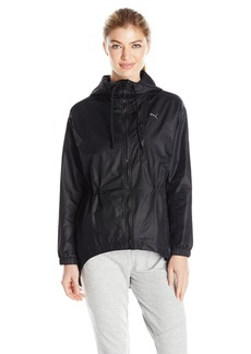 PUMA Women's Explosive Jacket Black/Irridescent S