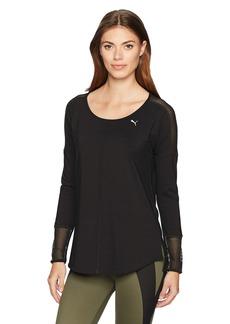 PUMA Women's Explosive Long Sleeve Top Black XS