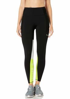 PUMA Women's Feel IT 7/8 Tight Leggings Blackyellow Alert M