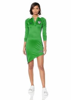 PUMA Women's Fenty Asymmetric Jersey Dress  S