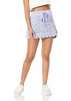 PUMA Women's Fenty Embroidered Edge Mini Skirt  L