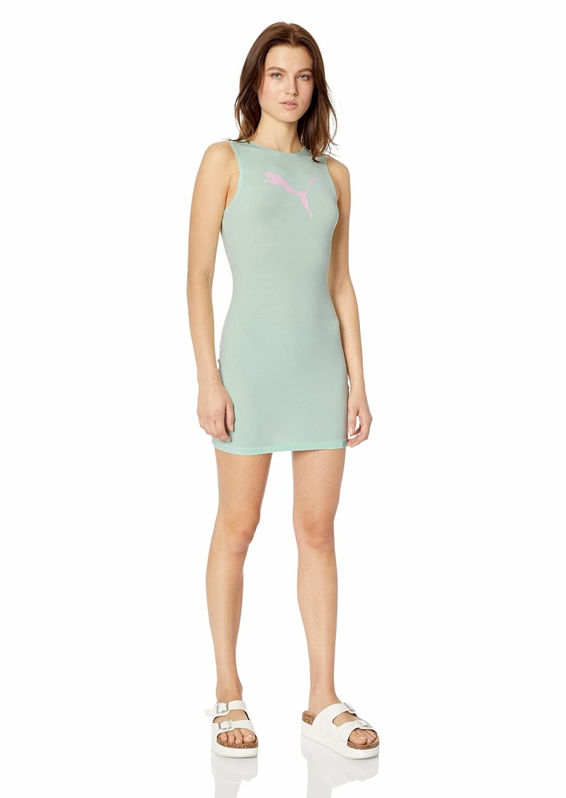PUMA Women's Fenty Fullzip Jersey Coverup Dress  L