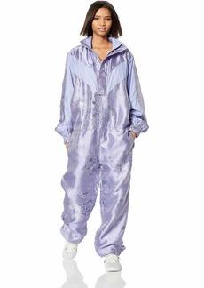PUMA Women's Fenty Jacquard Active Jumpsuit Sweet Lavender/TonalJacquard XS