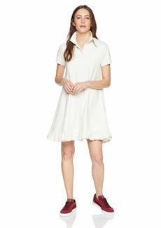 PUMA Women's Fenty Polo Swing Mini Dress Vanilla ice L