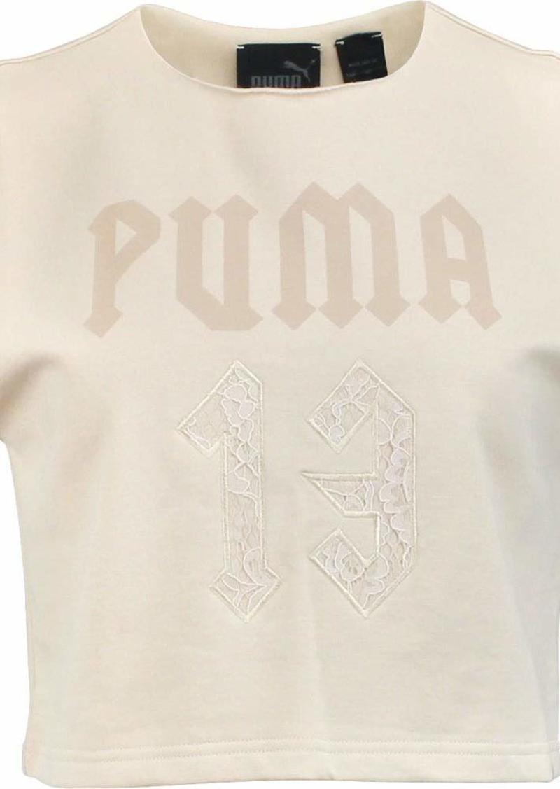 PUMA Women's Fenty Sleeveless Cropped Crew Neck  L