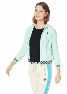 PUMA Women's Fenty Terry Cloth Zip-UP Racing Jacket  XS