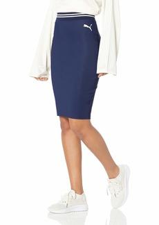 PUMA Women's Fenty Varsity Pencil Skirt  M
