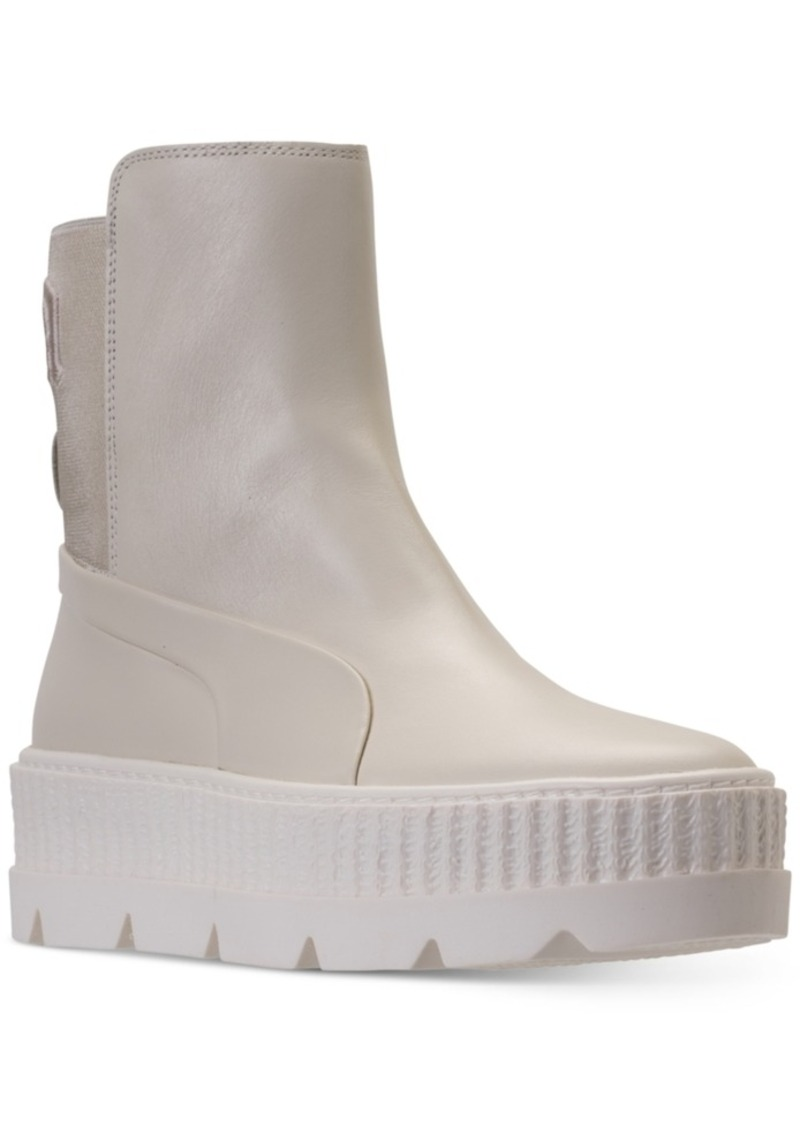 3b71446e3d36 Puma Puma Women s Fenty x Rihanna Chelsea Sneaker Boot from Finish ...