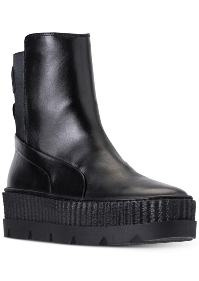 the best attitude f5026 ac8a6 Women's Fenty x Rihanna Chelsea Sneaker Boot from Finish Line